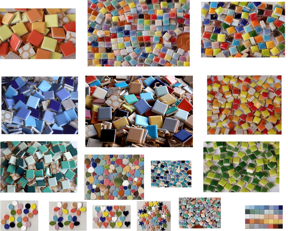 mosaik basteln mit keramischen mosaikfliesen pictures